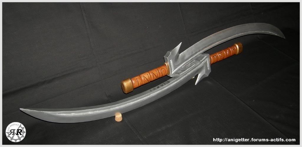 Double sabre Sabre-Innovateam008