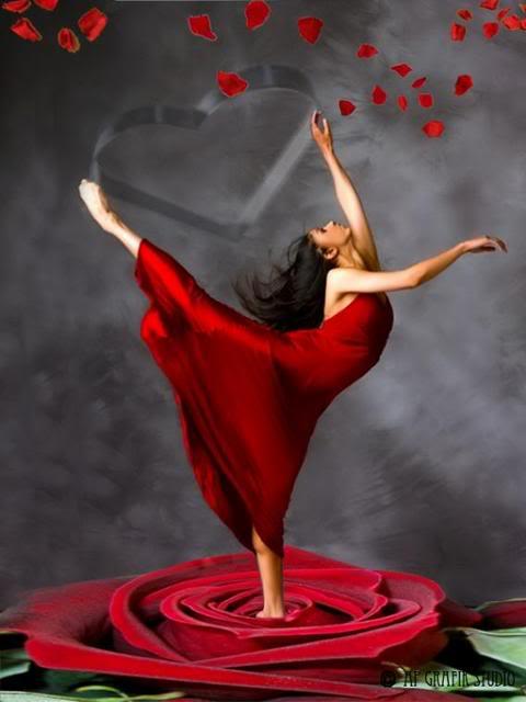 Crveno kao ljubav WomanRedDress