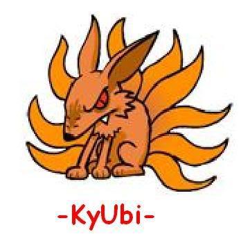 Personajes Kyubi