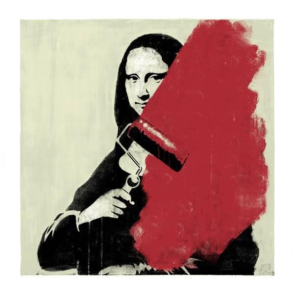 Razne Mona Lize Mona-print