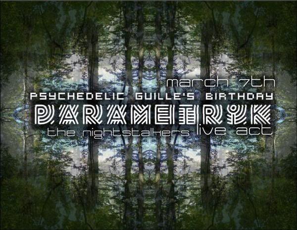 Psychedelik Party **PaRaMeTrIk**  7 MarzO 09 Flyer_Parametrik