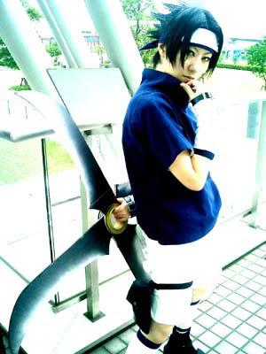 Cosplay [ Imagens ] Cosplay-Sasuke