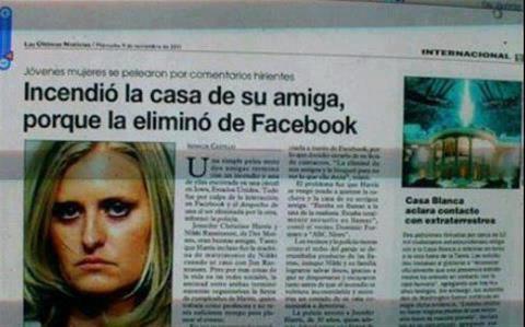 ¡¡¡ COMO ESTA LA GENTE.. Facebook