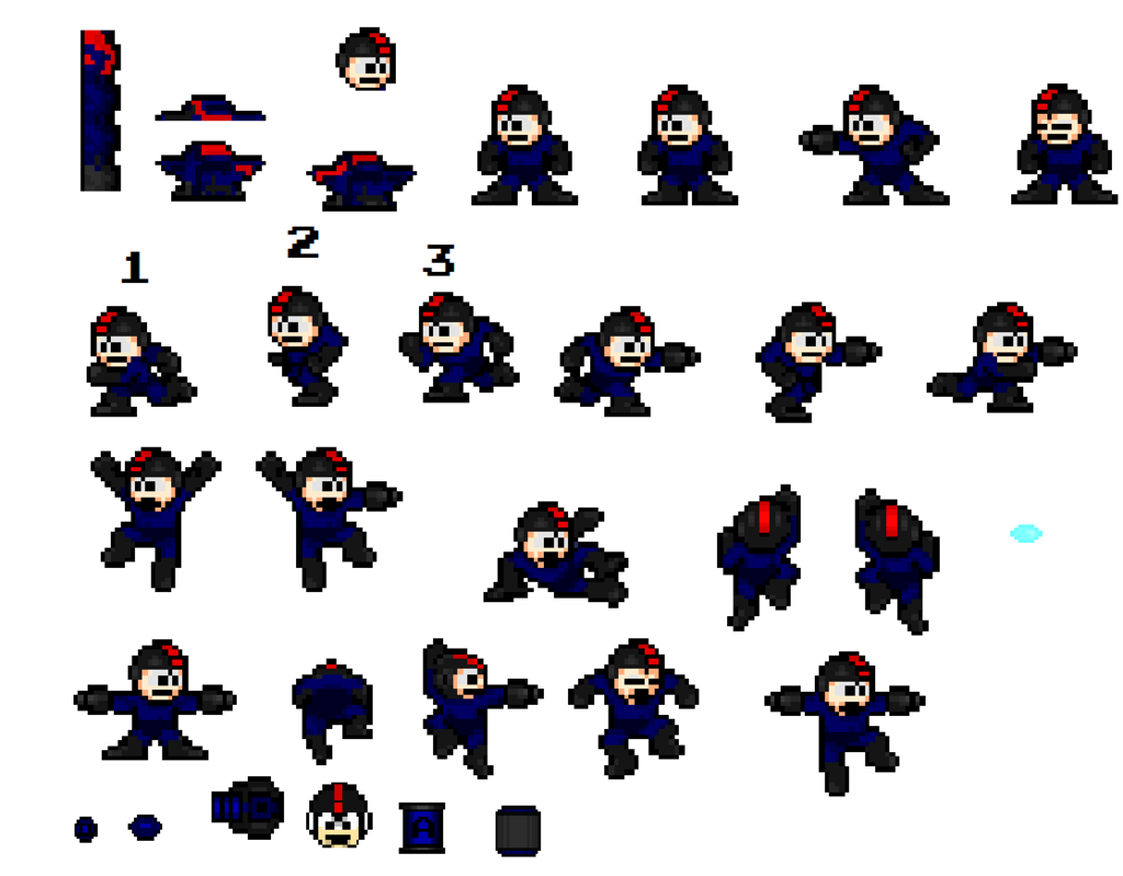 FyreeTSG's Custom Sprite and Pixel Art Showcase! Alt_Mega_Man_Full_Sheet_zpseq3fdmtb