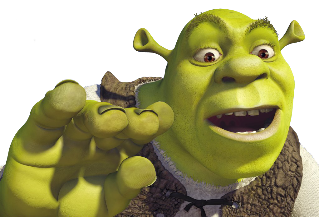 Voice Actors SHREK-PSD-3