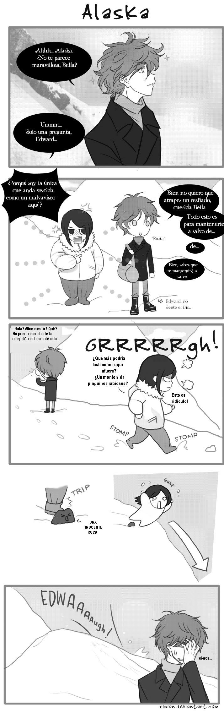 Cómics Alaska-comic