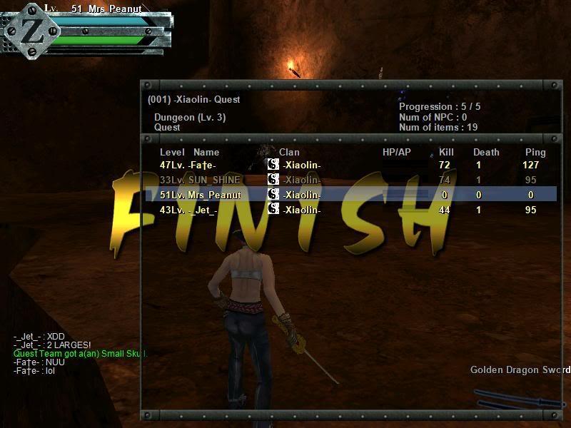 Prolar Quest scores Gunz074