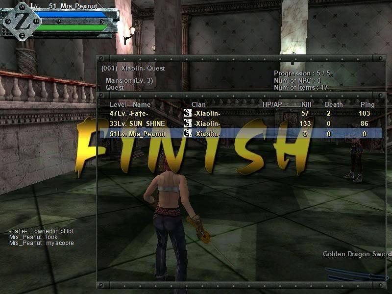Prolar Quest scores Gunz076