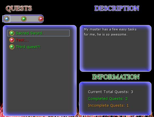 Omega Sistema de Quest!!! Q1