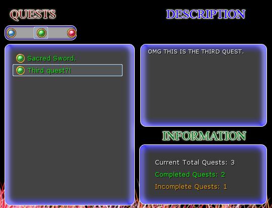 Omega Sistema de Quest!!! Q2
