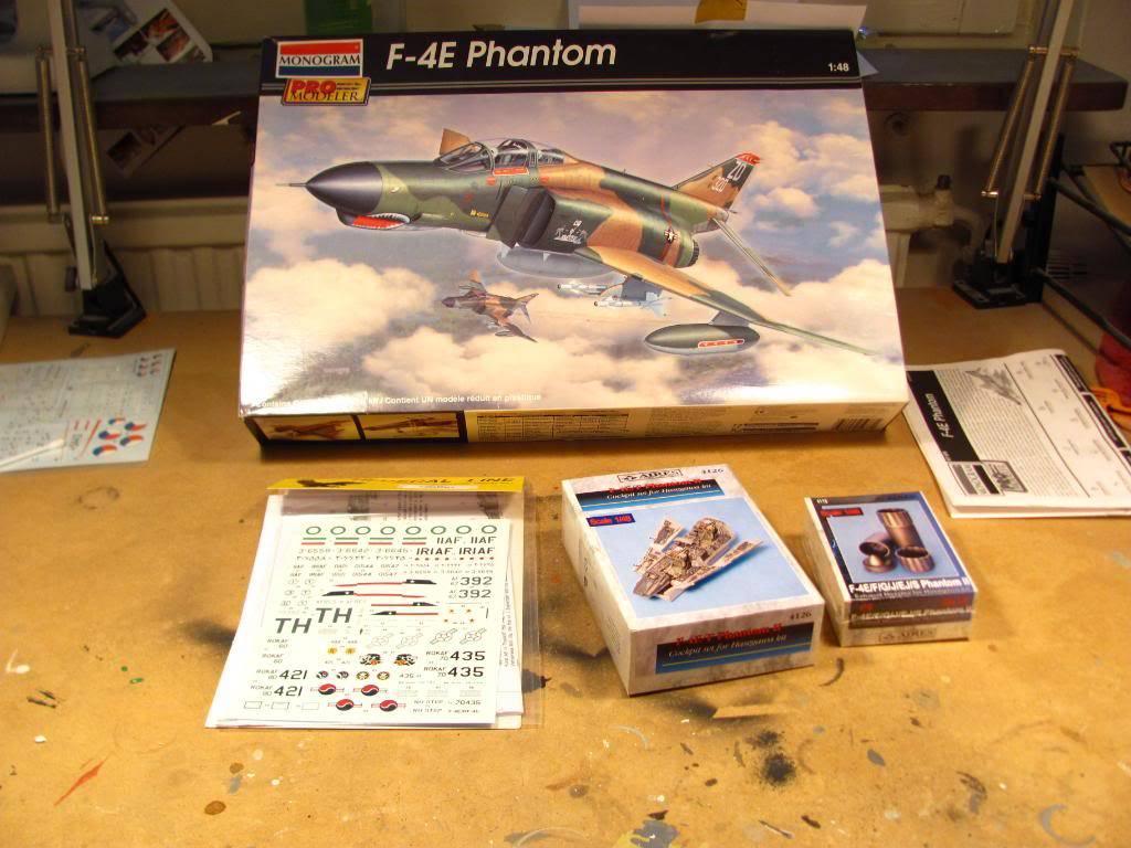 Pro Modeller F-4E PhantomII IRIAF 1/48 IMG_1086
