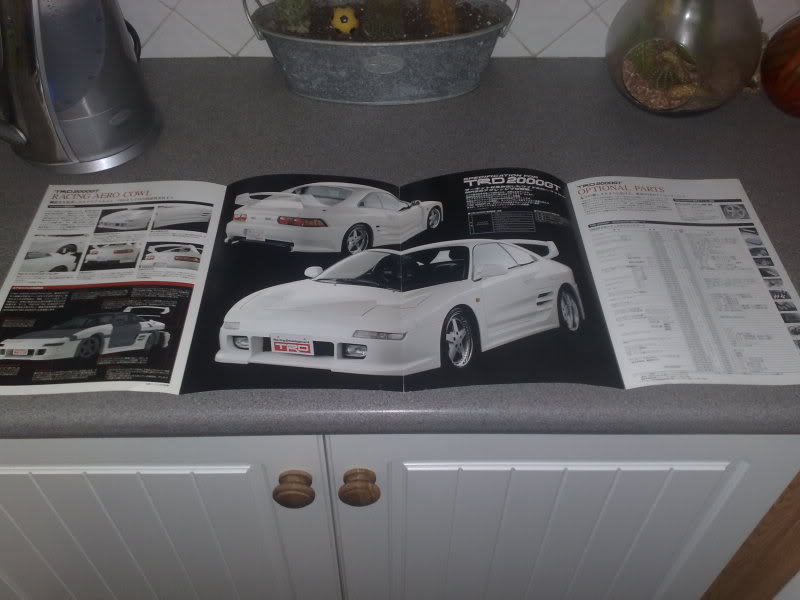 SOLD : complete set of TRD brochures, inc TRD2000GT and Mk2 Spider 27062008702