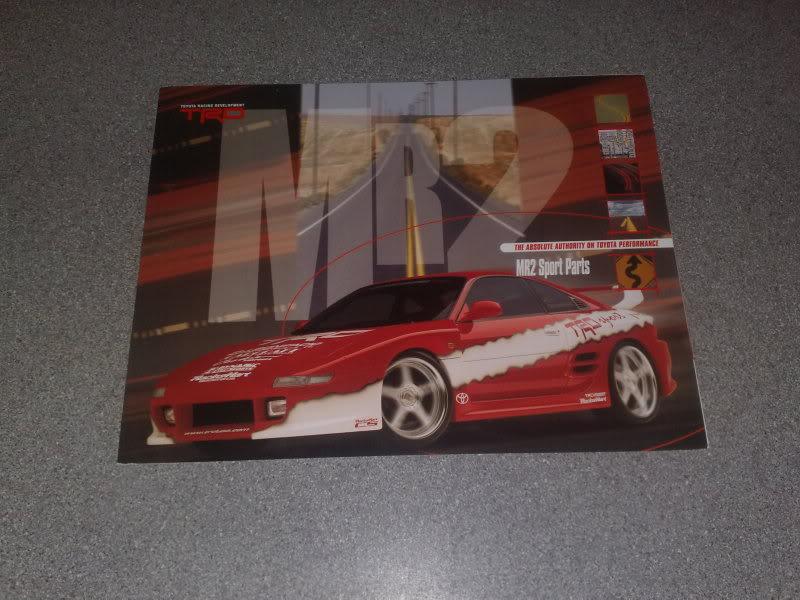 SOLD : complete set of TRD brochures, inc TRD2000GT and Mk2 Spider 27062008703