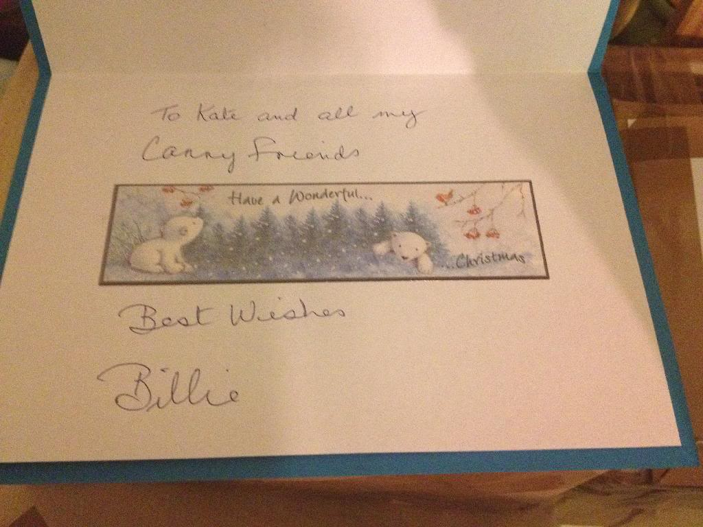 Billies Christmas card  B41D640B-7A78-49E6-AFE0-D185869D6D7C