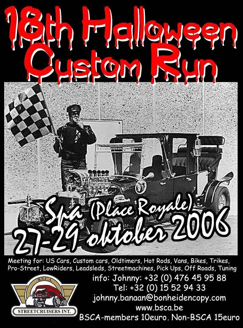 B.S.C.A. Halloween Custom Run, Spa  27/28/29-10-2006 BSCA1
