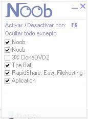 Decargar Noob v1.0.1 [Esconde todas las ventanas con un click] NooB