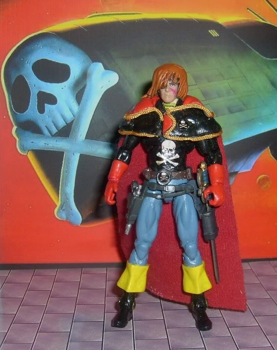Captain Harlock: Space Pirate Harlock01a