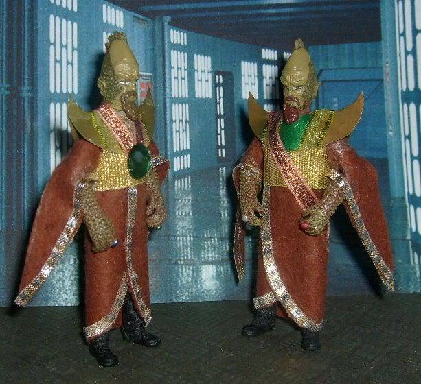Doctor Who 50th Anniversary CUSTOM FIGURES COMPETITION Draconians01