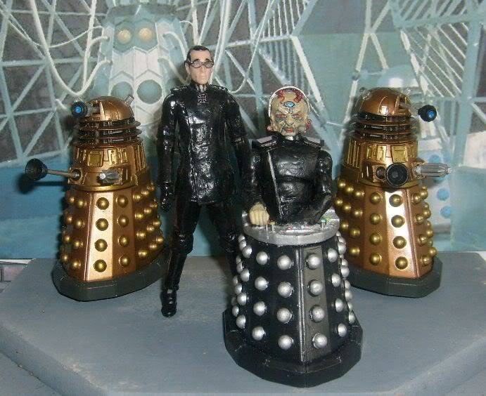 Doctor Who 50th Anniversary CUSTOM FIGURES COMPETITION GenesisoftheDaleks
