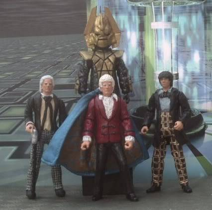 Doctor Who 50th Anniversary CUSTOM FIGURES COMPETITION TheThreeDoctors