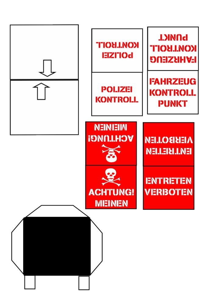 'Action Man' 1:18 Sentry Boxes ColditzSentryBox02a