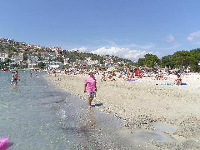 Santa Ponsa June 2012 Beach-2