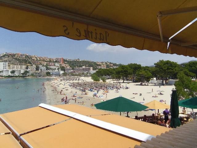 Santa Ponsa June 2012 Cafeview