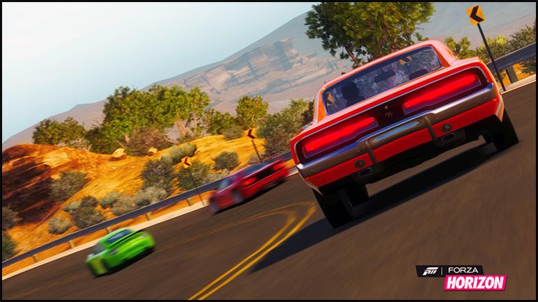 Forza Horizon Media Charger