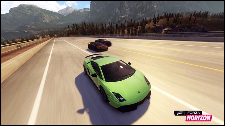 Forza Horizon Media Lambo