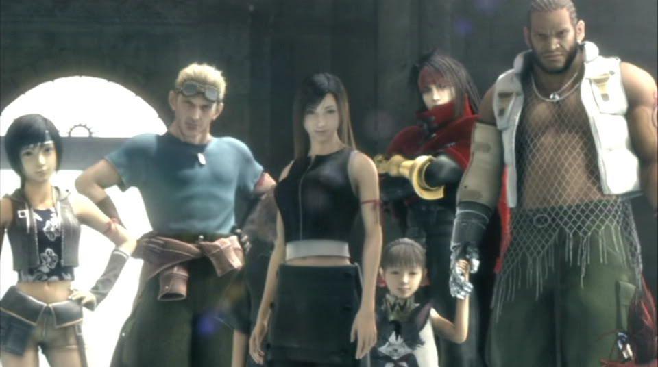 Final Fantasy 7 Advent children Aoi