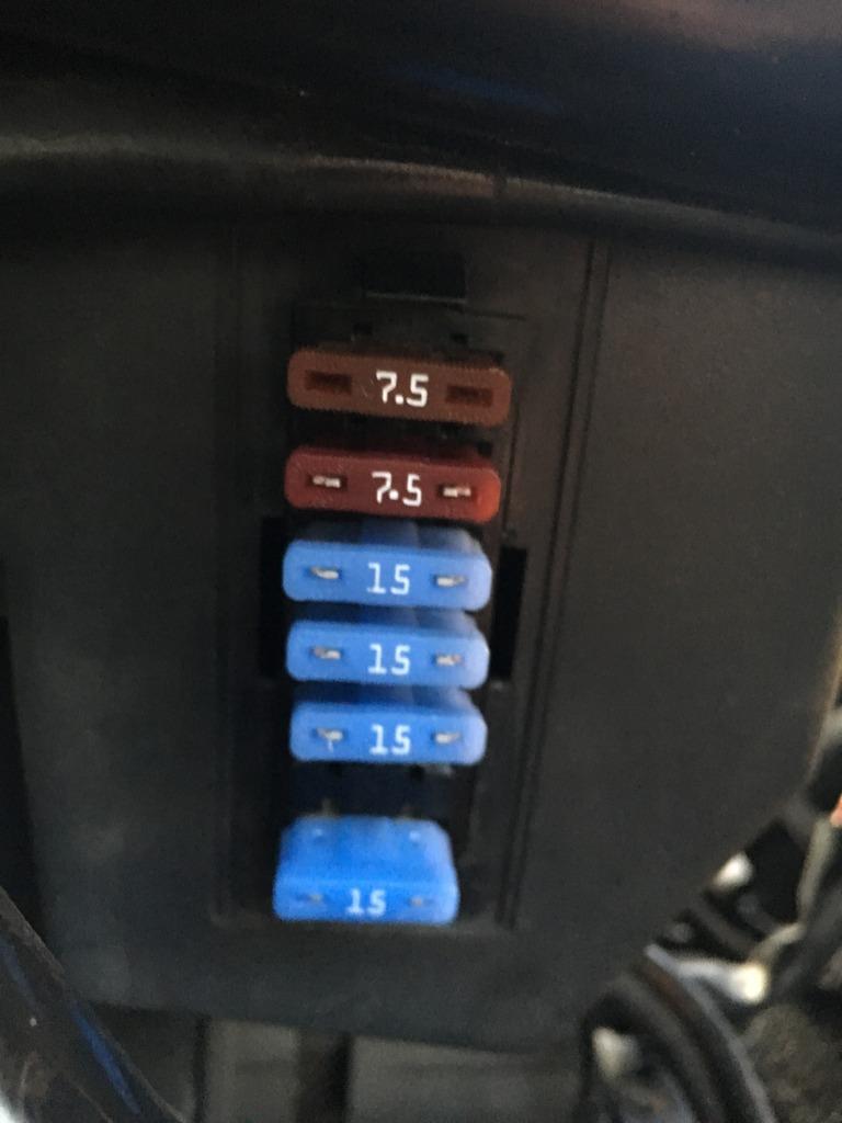 Bottom 7.5 fuse keeps blowing and now fuel pump isn't working. B1B2DDEA-5F8B-4F81-BA1B-89733D53E850