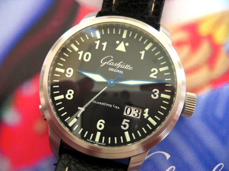 Glashutte Original Senator Navigator pour Rimowa IMG_1280