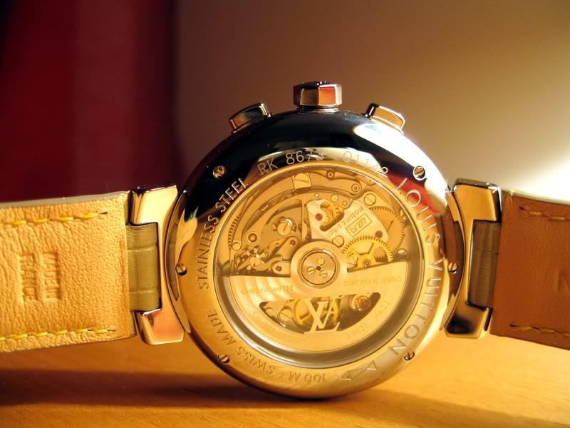 Quelle valeur ont les montres Louis Vuitton? Photo060c