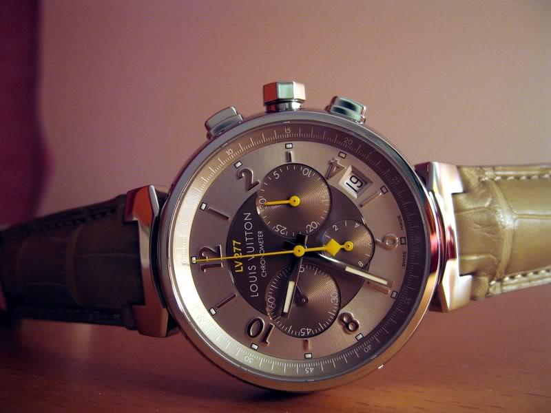 Quelle valeur ont les montres Louis Vuitton? Photo065
