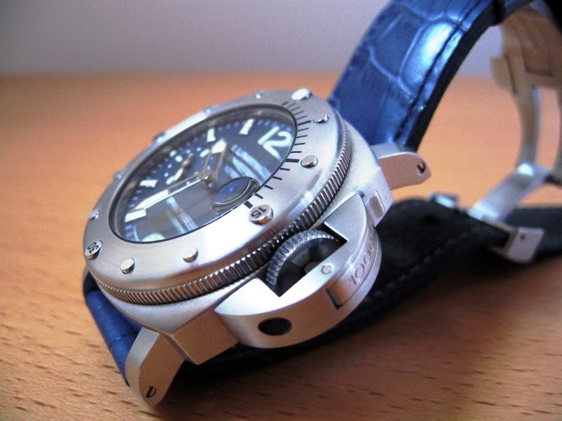 panerai - Quel bracelet pour une Luminor Panerai ??? Photo080