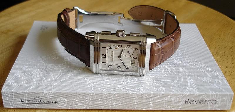 Et si vous portiez une montre carrée ce serait ? GmtA