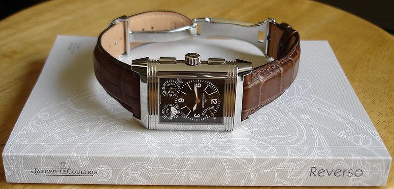 Et si vous portiez une montre carrée ce serait ? GmtB