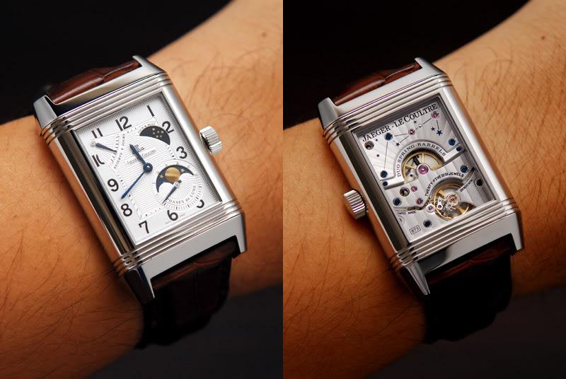 Et si vous portiez une montre carrée ce serait ? Jlcreversogsm1