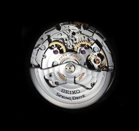 Seiko Spring Drive Chronographe GMT New5R
