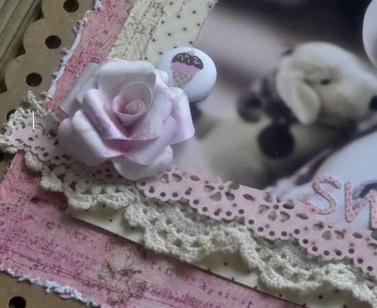 FABRIC BUTTONS!!! GIRL-flower