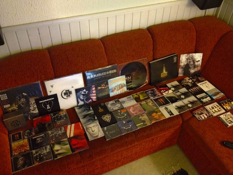 Musiikkikokoelmaasi kuvin esiteltynä - Sivu 2 Rammstein