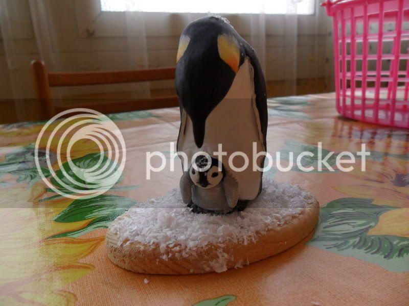 mamma pinguino col suo piccolo, che ne pensate? SAM_0553