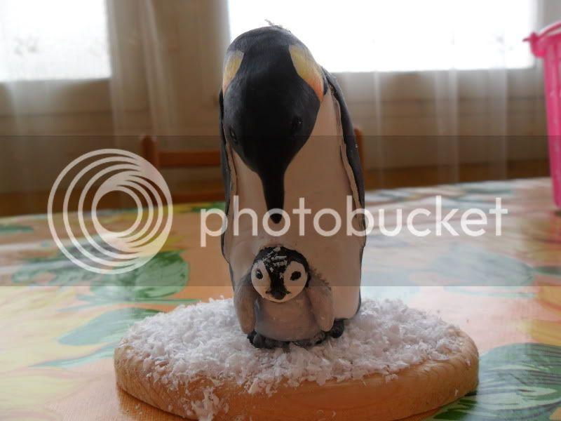 mamma pinguino col suo piccolo, che ne pensate? SAM_0554