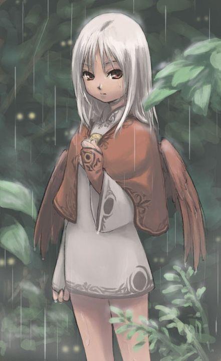 Sina komonako Whitehairedangel