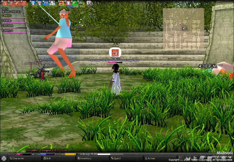 Kerobeo's Goodbyes to Hikari Mabinogi_2009_11_09_001