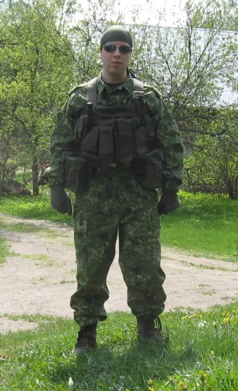 Katsaus: Venäläinen Flecktarn D-BDU Novafleckd