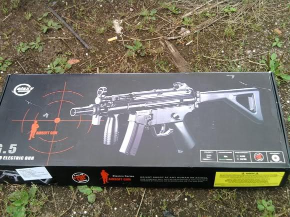 Katsaus: Galaxy G5 MP5K A4 PDW Pdwbox
