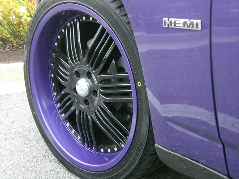 2007 Plum Crazy Dodge Charger Daytona CIMG1879