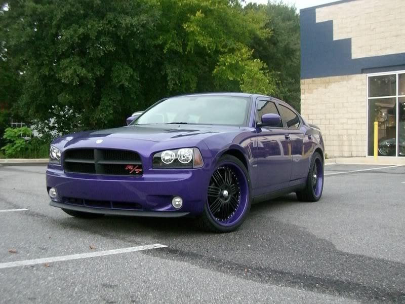2007 Plum Crazy Dodge Charger Daytona CIMG1880