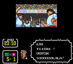 Capitulo 1: Partido introductorio contra el equipo de nombre impronunciable Tsubasa3025